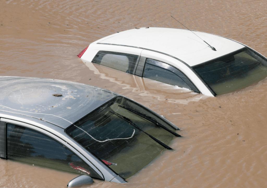 kereta rosak disebabkan banjir